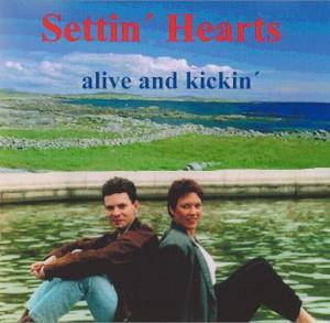 Cover Settin´ Hearts CD